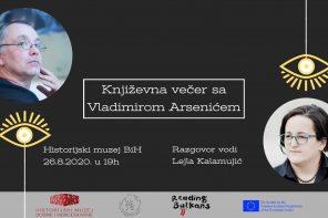 Reading Balkans 2020: Književna večer sa Vladimirom Arsenićem