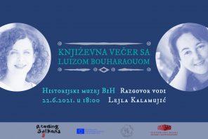 Reading Balkans 2021: Književna večer sa Luizom Bouharaouom